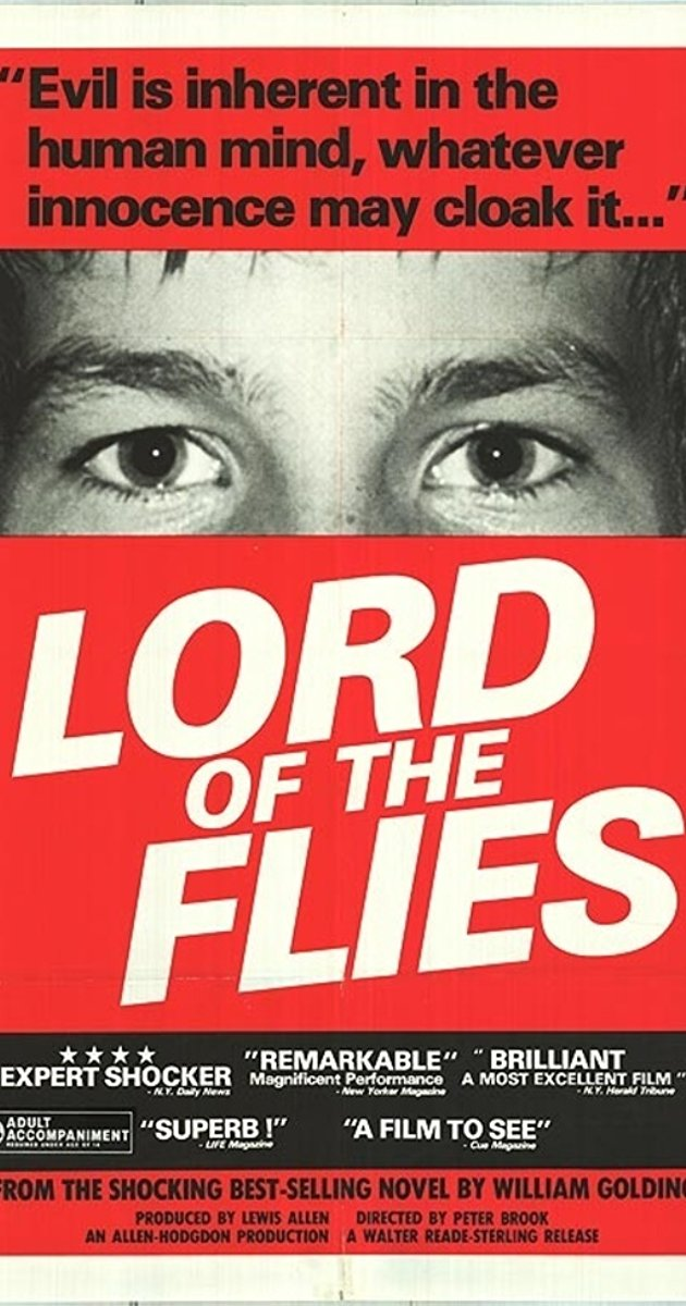 Poster from the 1963 release of Lord of the flies